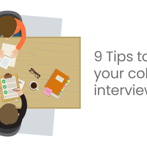 How to nail your college interview with these 9 tips