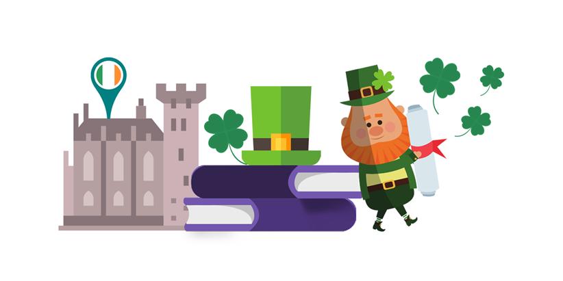 Study abroad in Ireland, Top universities, quality education, leprechauns, Irish luck